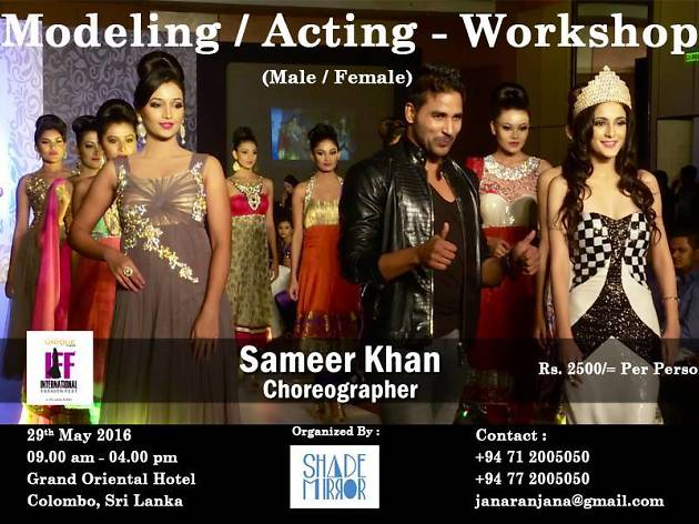 Modeling/acting workshop