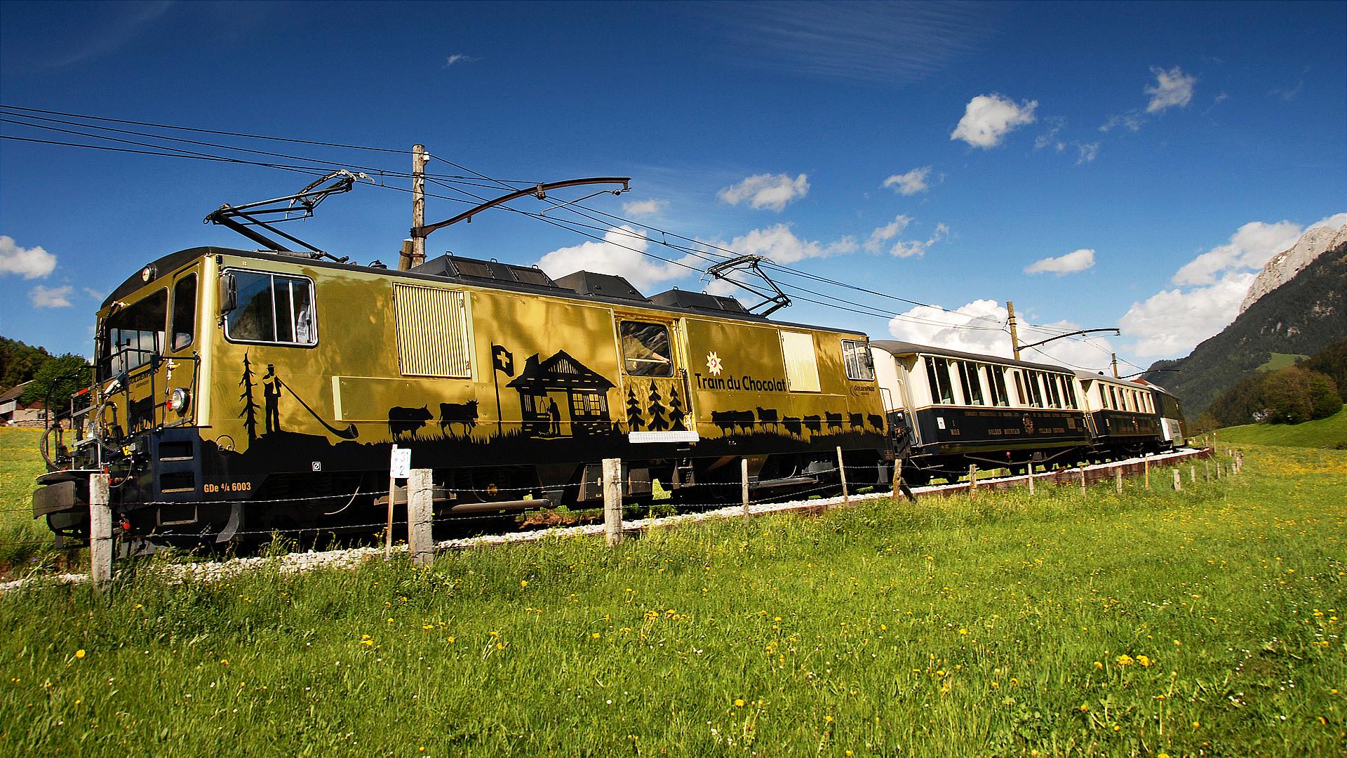 Swiss Chocolate Train