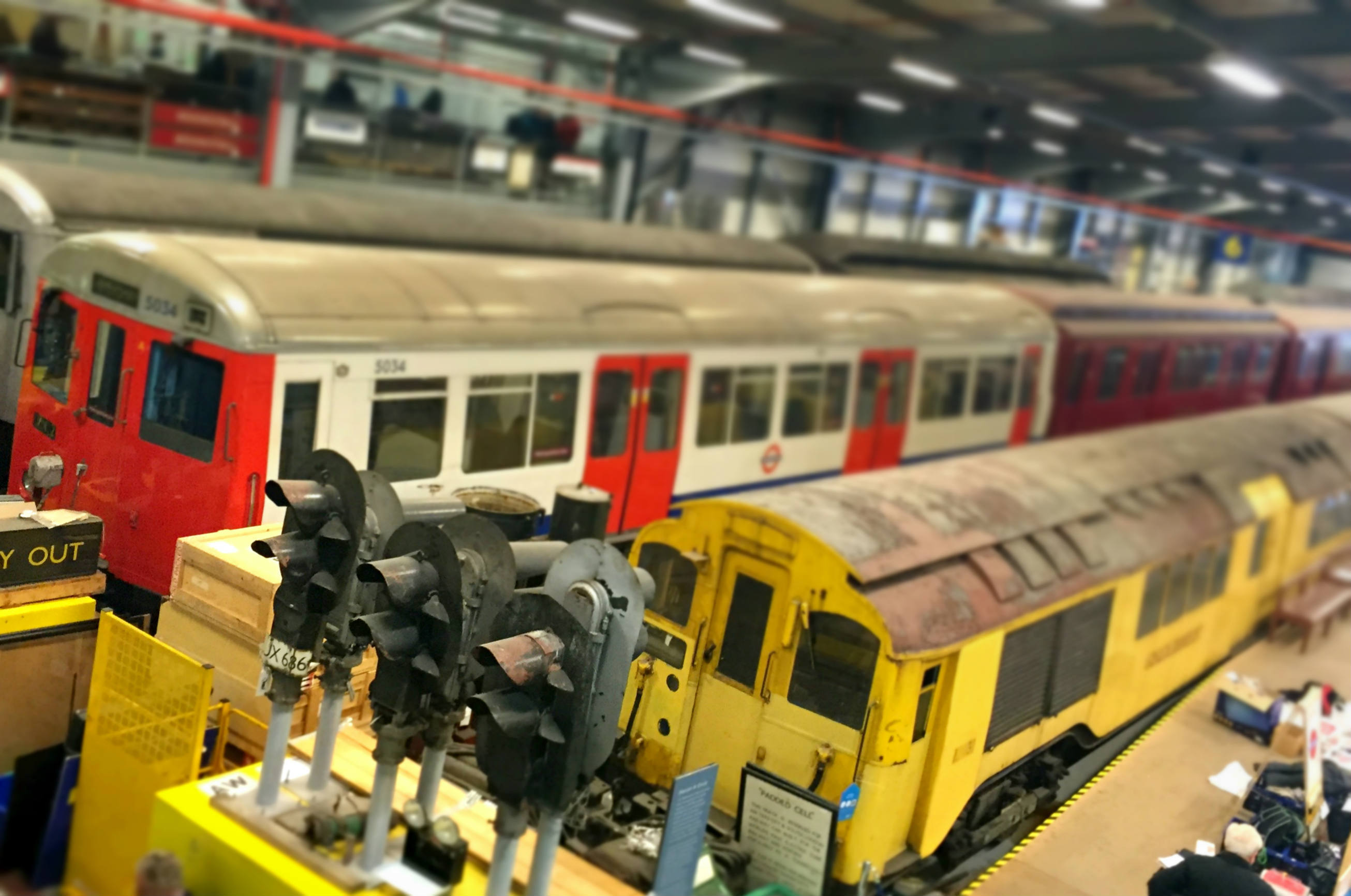 In pictures: the London Transport Museum Depot in Acton