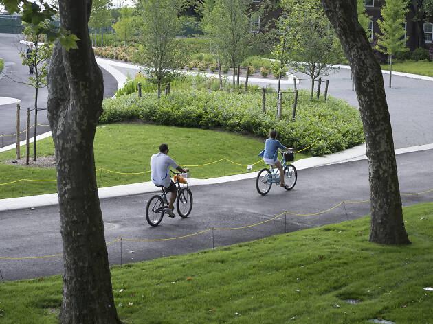 Bike rentals at Colonels Row