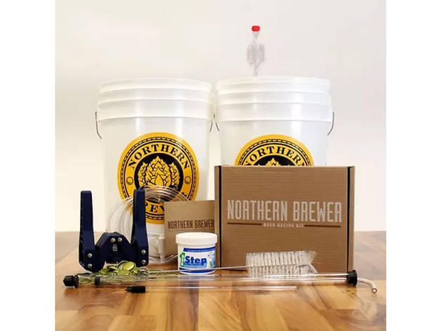 Northern Brewer homebrew starter kit