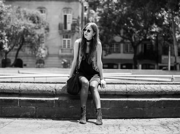 Silver Rosa en la Roma