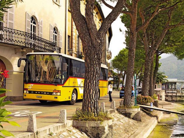 Morcote Route • Bus