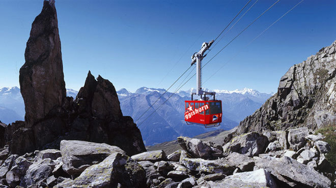 Eggihorn cable car