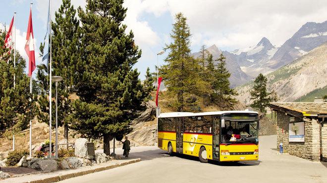 Saas-Fee Route • Bus