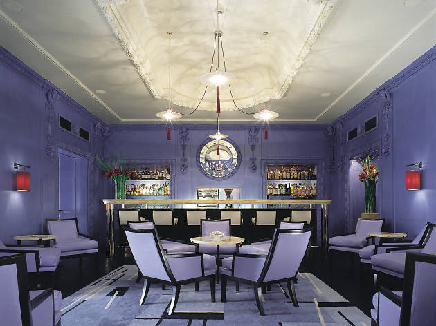 best hotel bars in london, blue bar