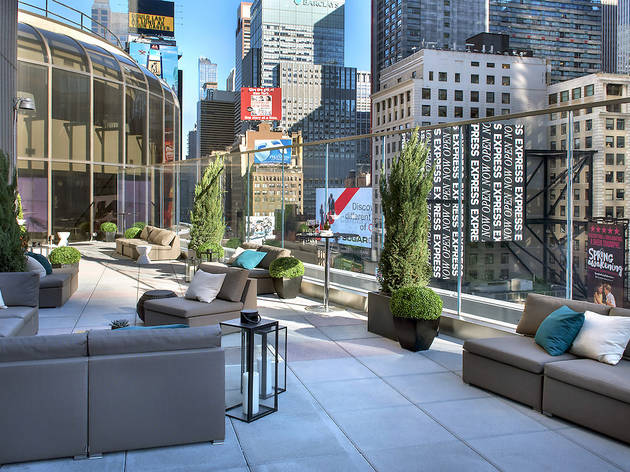 Broadway Terrace at New York Marriott Marquis