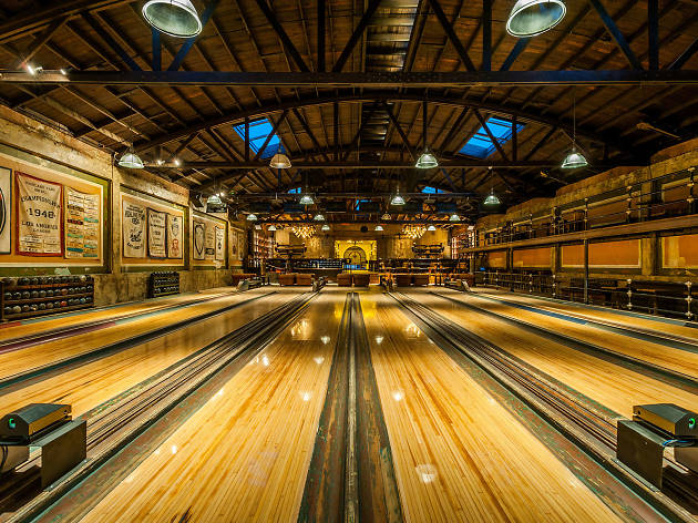 Grab a lane at Highland Park Bowl