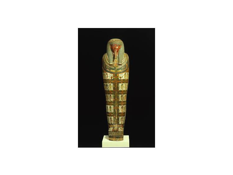 Cartonnage of Nespanetjerenpere, ca. 945-718 B.C.E.