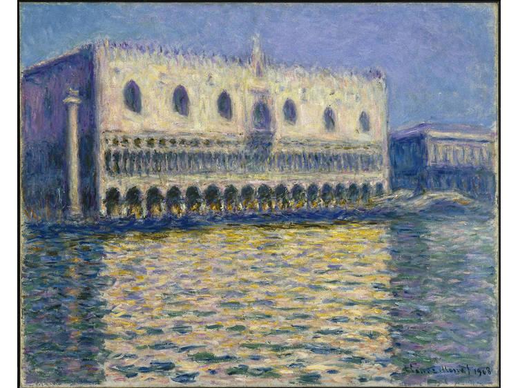 Claude Monet, The Doge's Palace (Le Palais ducal), 1908