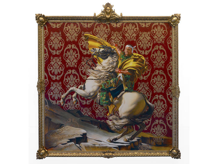 Kehinde Wiley, Napoleon Leading the Army over the Alps, 2005