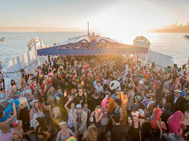 Daybreaker Boat Party with Pink Mammoth