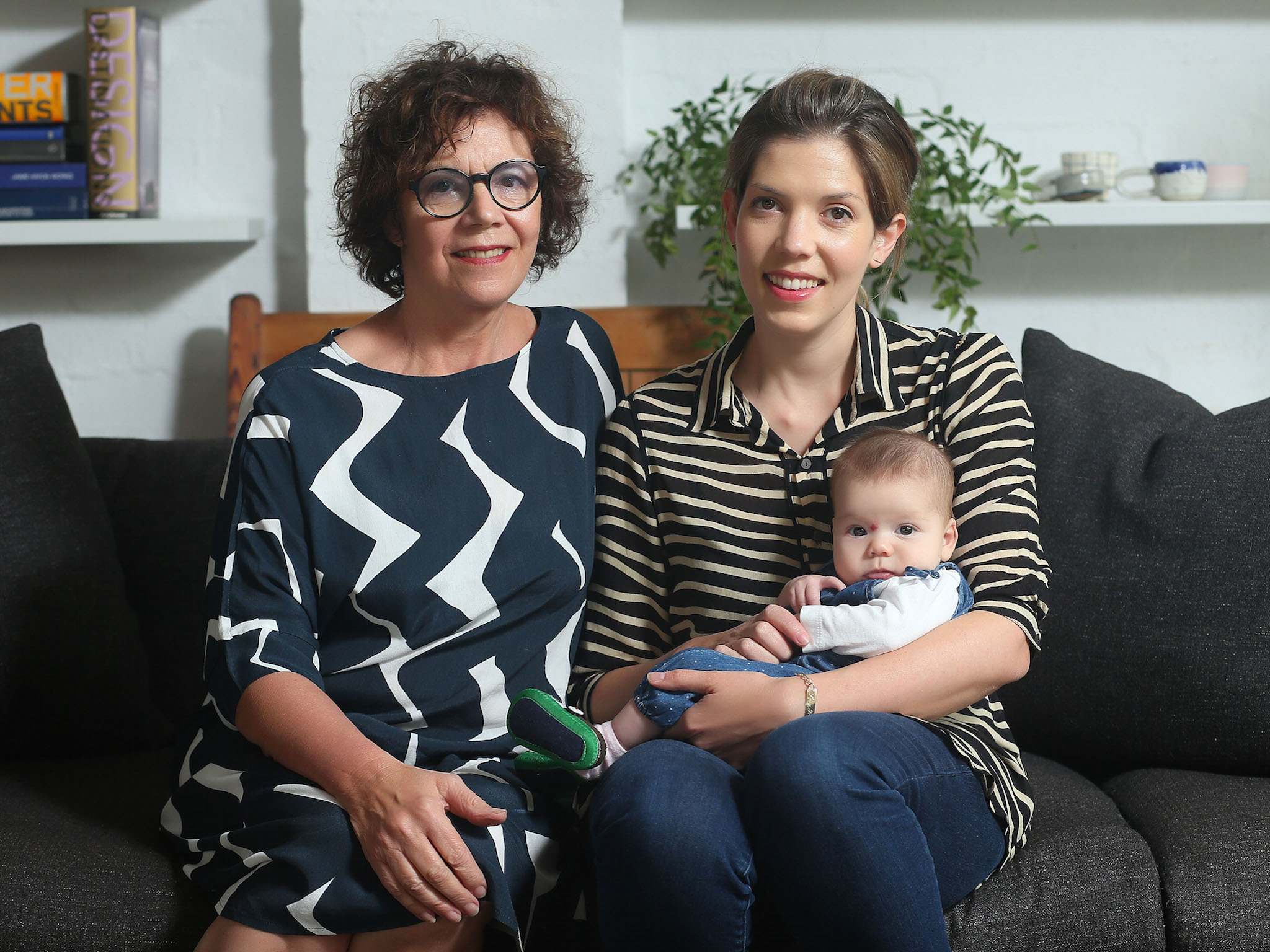 Cool mums feature: Lucy Feagins and baby Minnie