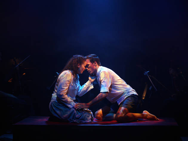 Spring Awakening The Musical 2016 ATYP production photo 05 feat Jessica Rookeward and James Raggatt photographer credit Tracey Schramm