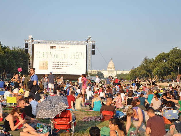 Screen on the Green