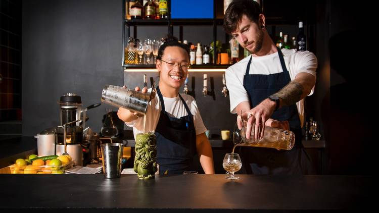 Bartenders at PS40
