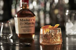 A Old Fashioned cocktail by Maker's Mark