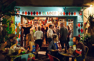People outside El Loco in Surry Hills