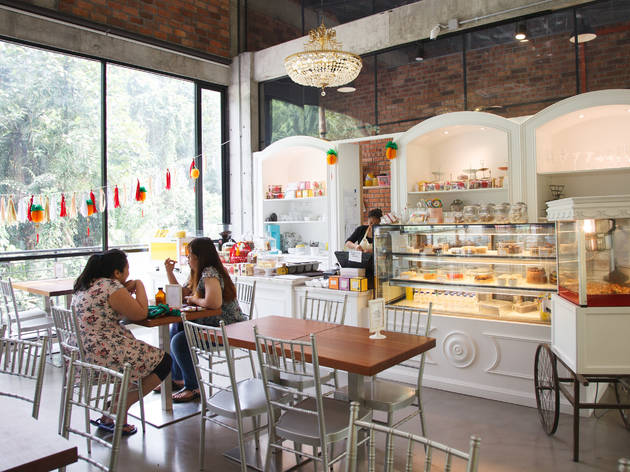 The Delectable Cafe at Glasshouse