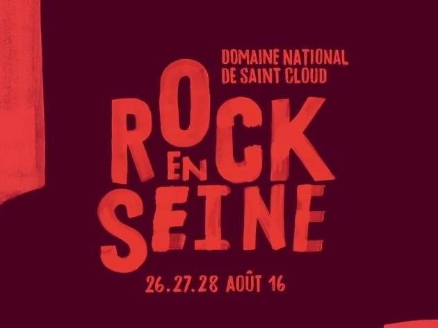 Rock en Seine 2016 affiche