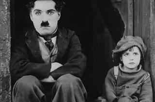 Charlie Chaplin en el Film Club Café