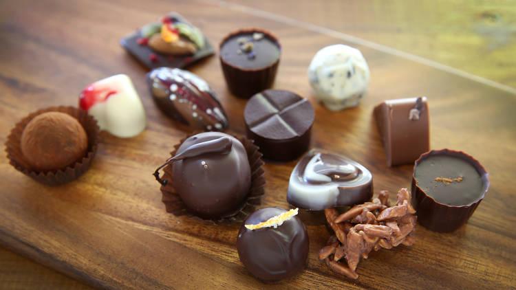 Chocolates from Kakawa