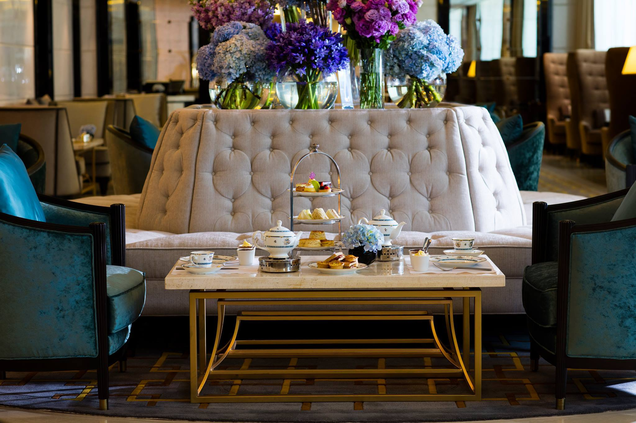The posh experience: The Lobby Lounge