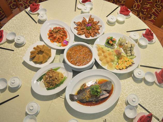 Oriental Thai Chinese Cuisine Mother's Day menu
