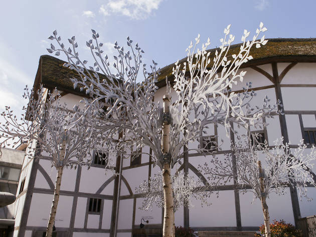Shakespeare's Globe magical forest