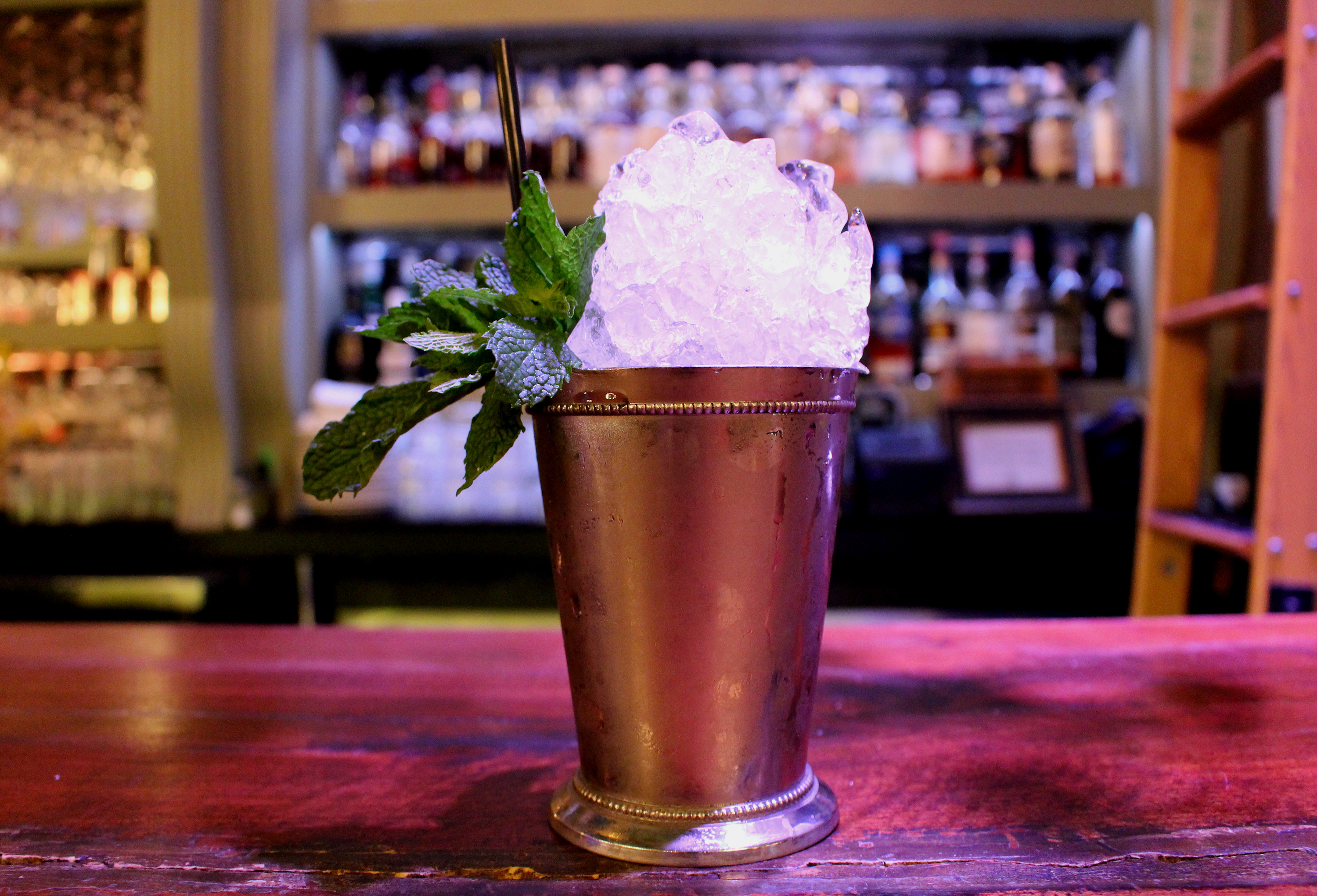 Mint Julep at the Flatiron Room