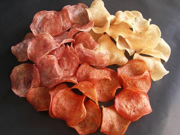 Adéu patates fregides de bossa, hola snacks d'embotits!
