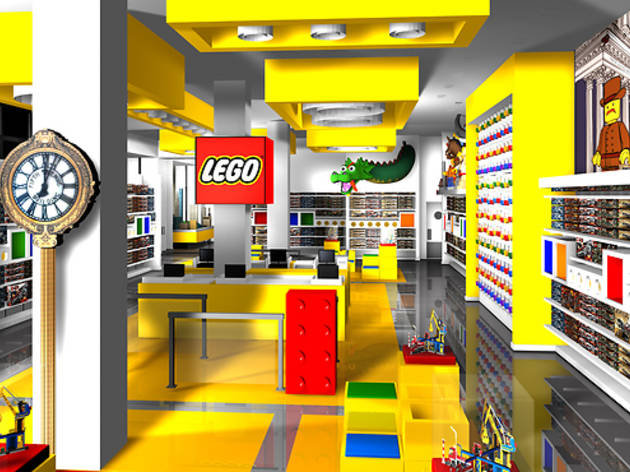 Build creations at the LEGO Flagship Store