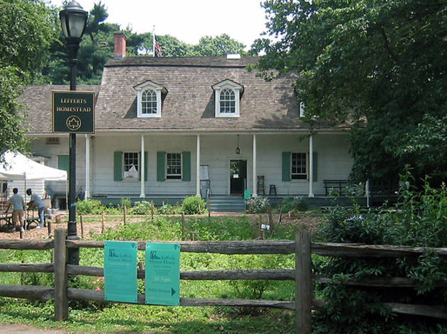 Visit 18th-century NY at Lefferts Historic House Museum