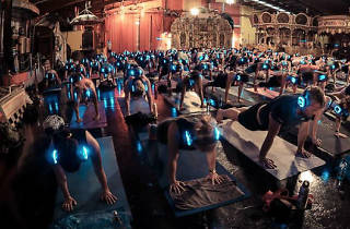 Flow After Dark silent yoga disco