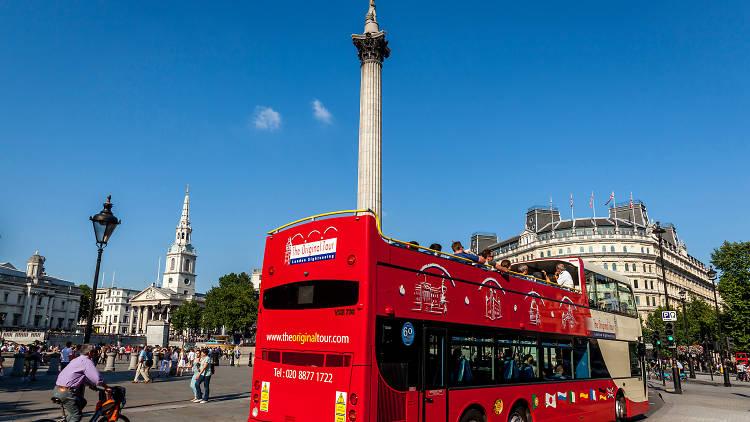 Original London Sightseeing Bus Tour
