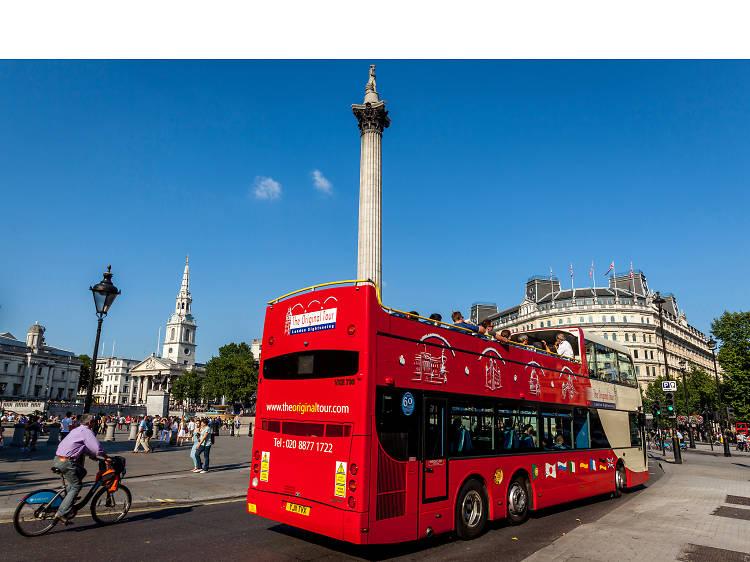 London bus tours