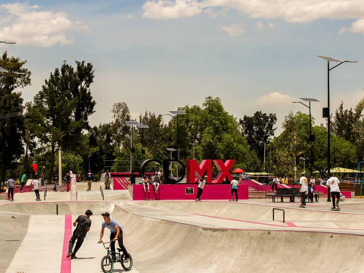 Skate Park Bosque de San Juan de Aragón