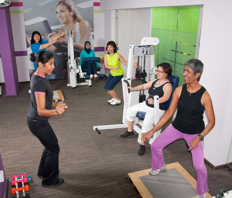 For those who like: cosy, women-only gyms