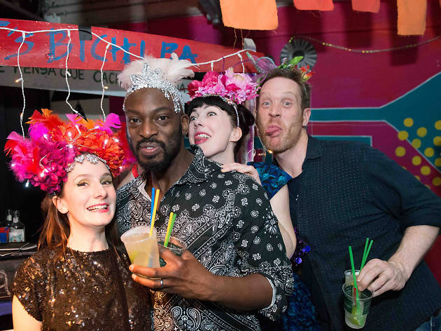 Tropicalista Thames Boat Party