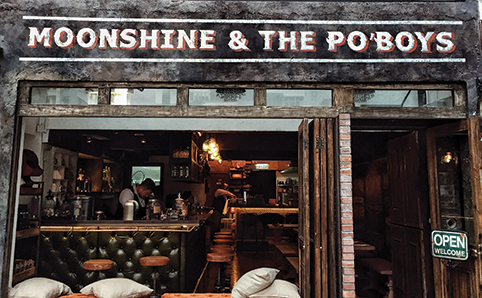 Moonshine & The Po Boys (CLOSED)