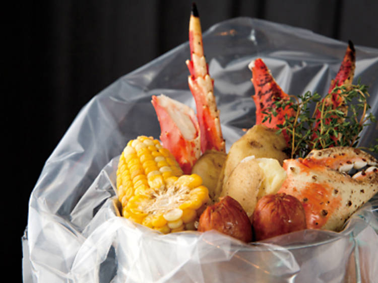 Low country boil (Holy Crab)
