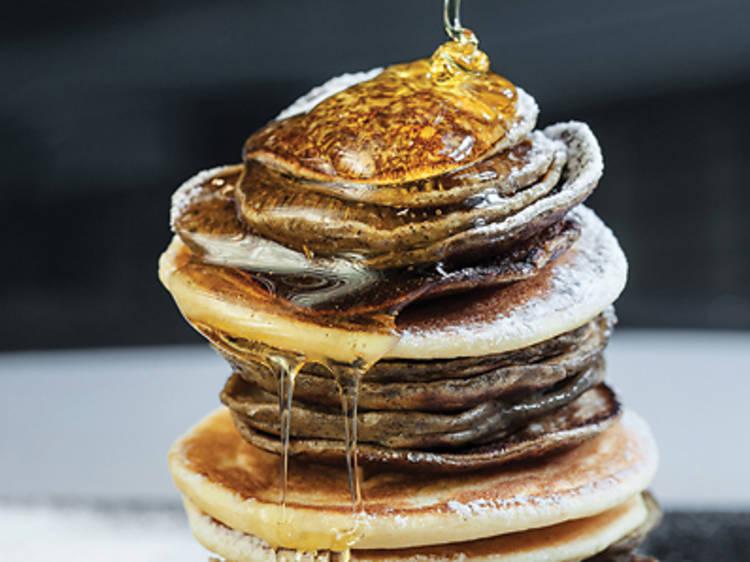 Scoff pancakes at Stack