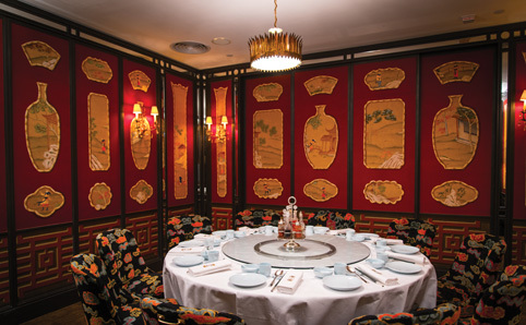 china tang landmark restaurants in central hong kong. Black Bedroom Furniture Sets. Home Design Ideas