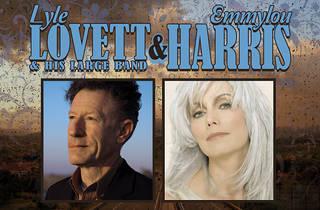 Lyle Lovett + Emmylou Harris