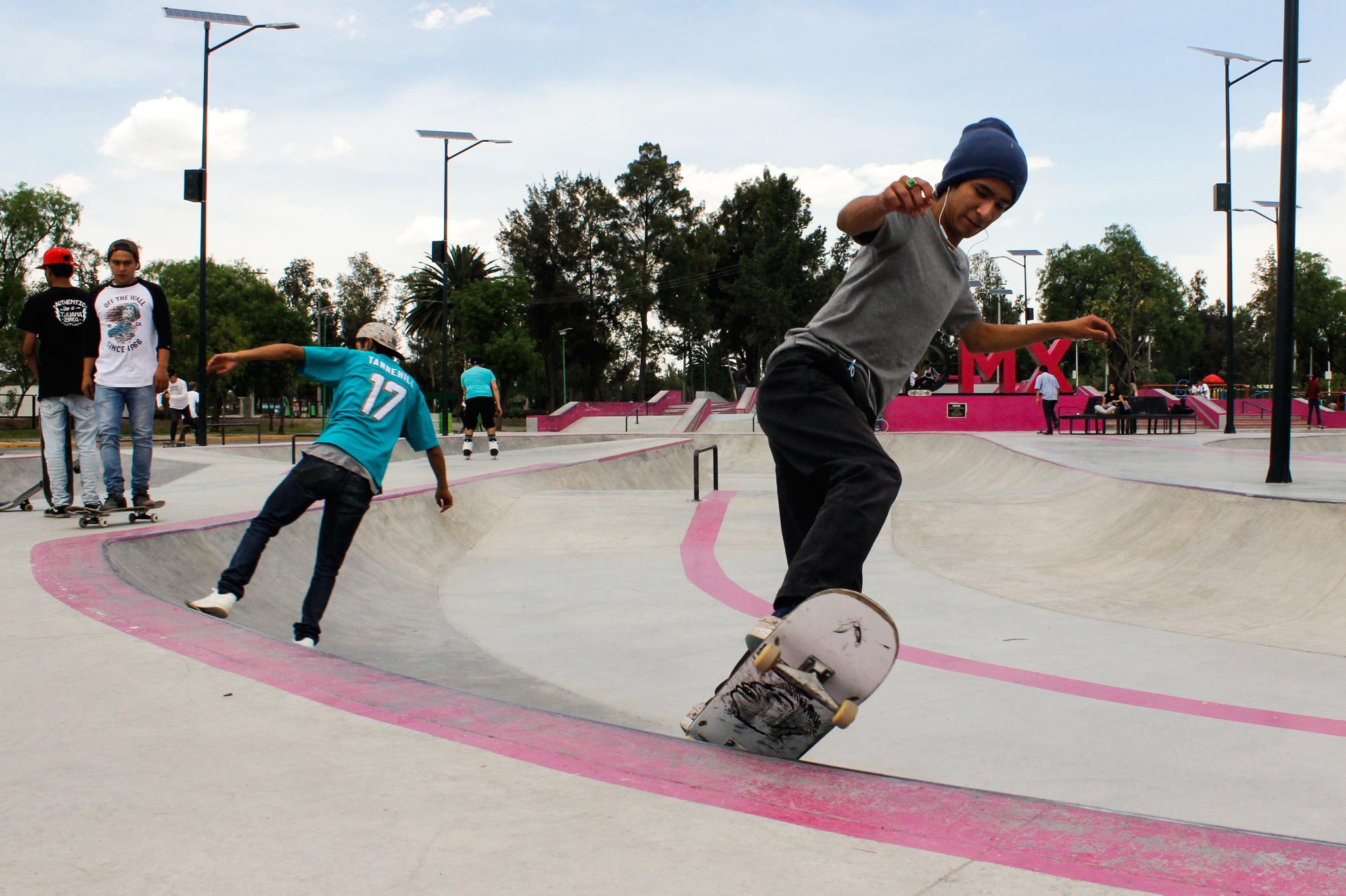 Guía de skateboarding en la CDMX