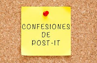 Confesiones de post-it de los lectores de Time Out México