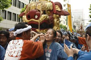 つきじ獅子祭