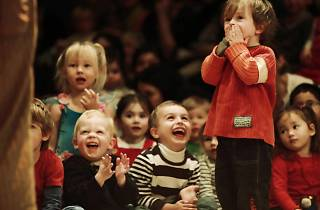 Children at a Babies Proms event