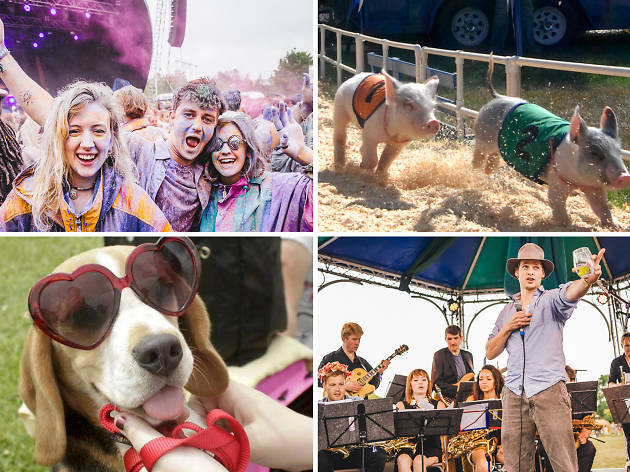 The little things: quirky goings-on at this summer's music festivals