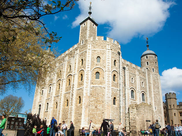 Walk into 1,000 years of history at the Tower of London